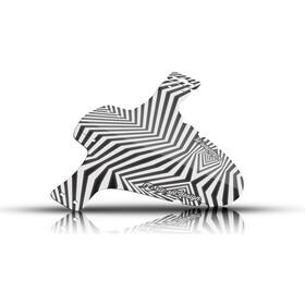"""Riesel Design schlamm:PE Voorspatbord 26-29"""", dazzle"""